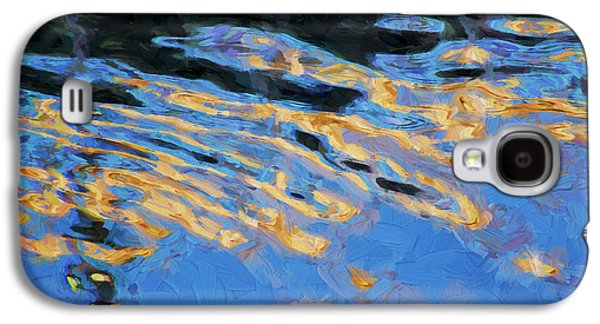 Color Abstraction Lxiv Galaxy S4 Case by David Gordon