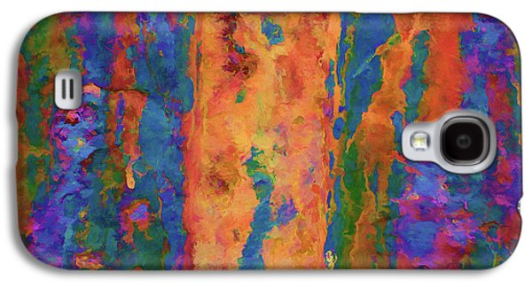 Color Abstraction Lxvi Galaxy S4 Case by David Gordon