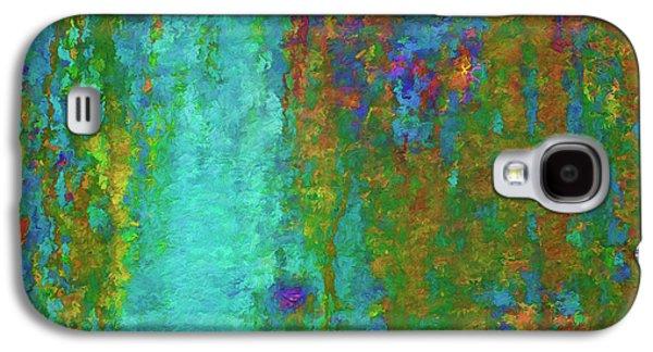 Color Abstraction Lxvii Galaxy S4 Case by David Gordon