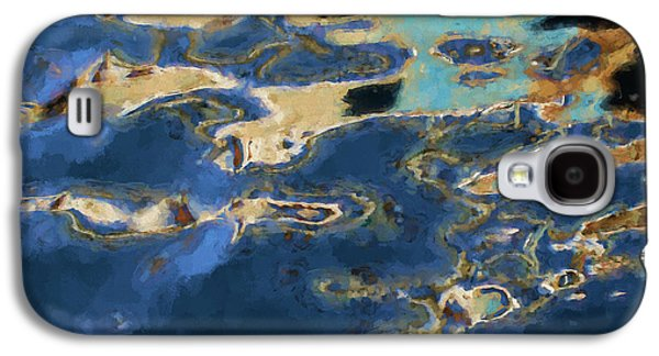 Color Abstraction Xxxvii - Painterly Galaxy S4 Case by David Gordon