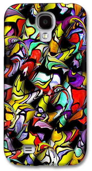 Abstract Forms Galaxy S4 Cases - Color Unfolds Galaxy S4 Case by Joan  Minchak