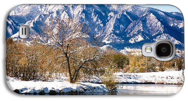 Walden Pond Galaxy S4 Cases - Colorado Flatirons 2 Galaxy S4 Case by Marilyn Hunt