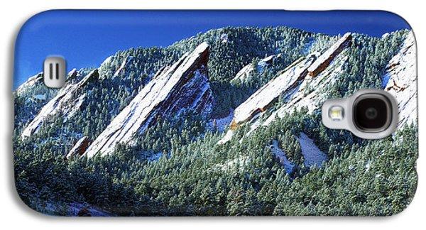 Colorado Flatirons Galaxy S4 Case by Marilyn Hunt