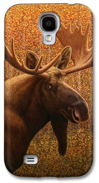 Aspen Galaxy S4 Cases - Colorado Moose Galaxy S4 Case by James W Johnson