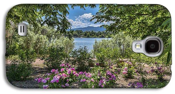 Fort Collins Galaxy S4 Cases - Colorado Rose Garden Galaxy S4 Case by Keith Ducker