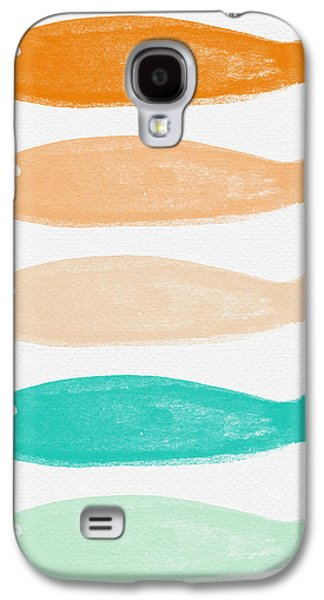 Schools Of Fish Galaxy S4 Cases - Colorful Fish Galaxy S4 Case by Linda Woods