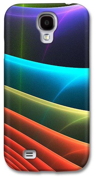 Galaxy S4 Cases - Colorful Layers Galaxy S4 Case by Anastasiya Malakhova