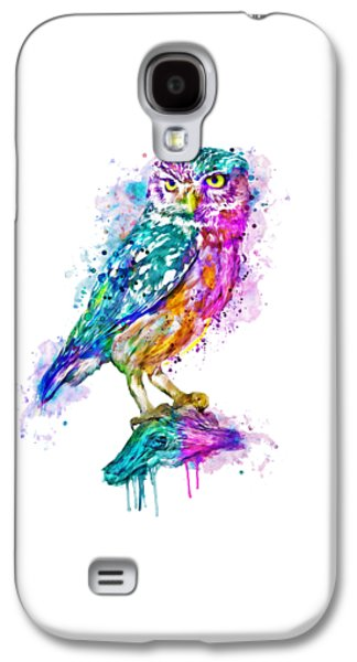 Colorful Owl Galaxy S4 Case by Marian Voicu