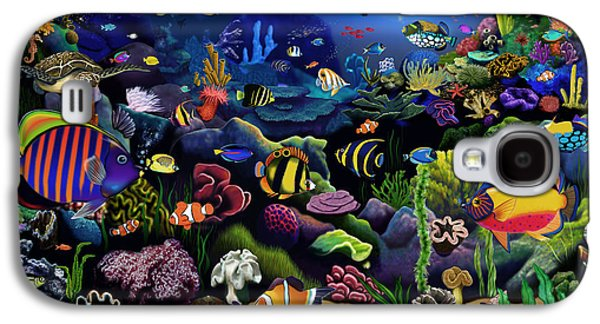 Colorful Reef Galaxy S4 Case by Gerald Newton