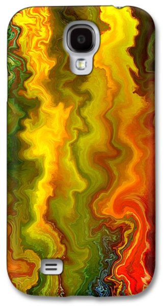 Basic Drawings Galaxy S4 Cases - Colorful Thoughts Galaxy S4 Case by Rafi Talby