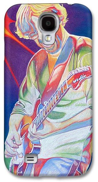 Lead Galaxy S4 Cases - Colorful Trey Anastasio Galaxy S4 Case by Joshua Morton