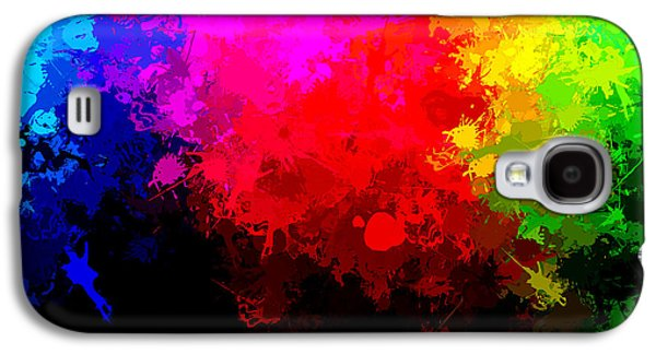 Abstract Digital Paintings Galaxy S4 Cases - Colors Above All Others Galaxy S4 Case by Bruce Nutting