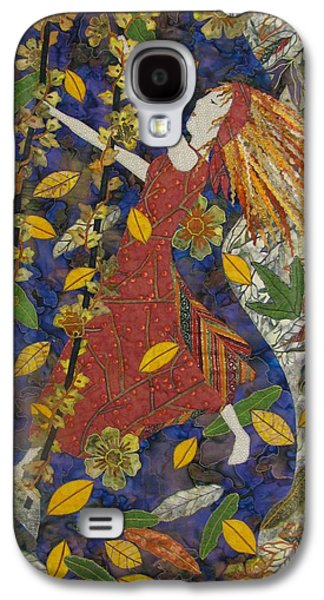 Girl Tapestries - Textiles Galaxy S4 Cases - Colors of Autumn Galaxy S4 Case by Lynda K Boardman