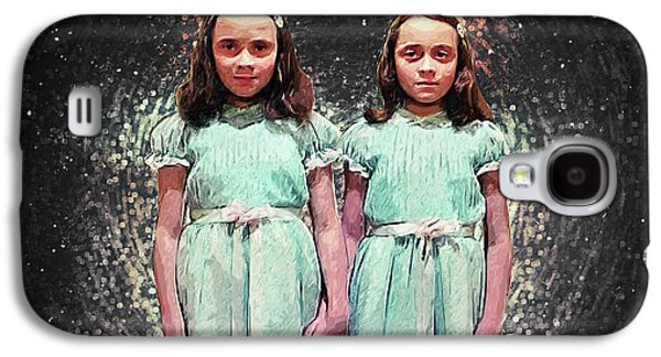 Come Play With Us - The Shining Twins Galaxy S4 Case by Taylan Apukovska