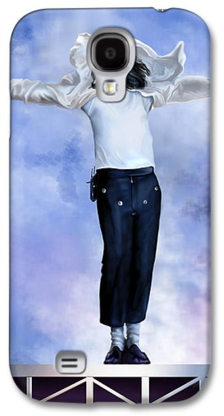 Jacko Galaxy S4 Cases - Come Together Over Me - MJ Galaxy S4 Case by Reggie Duffie