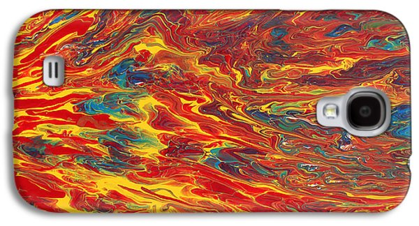 Morphing Galaxy S4 Cases - Comfortable Chaos Galaxy S4 Case by Maxwell Hanson