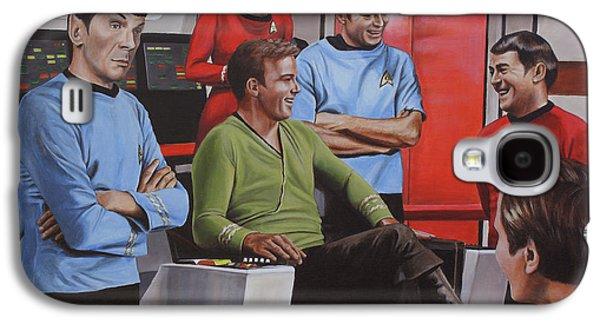 Comic Relief Galaxy S4 Case by Kim Lockman