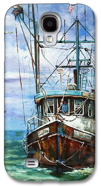Fishing Galaxy S4 Cases - Coming Home Galaxy S4 Case by Dianne Parks