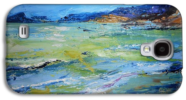 Coming Storm At El Portet Galaxy S4 Case by Christine Storey