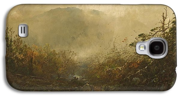 Mountain Valley Galaxy S4 Cases - Coming Storm in the Adirondacks Galaxy S4 Case by William Sonntag