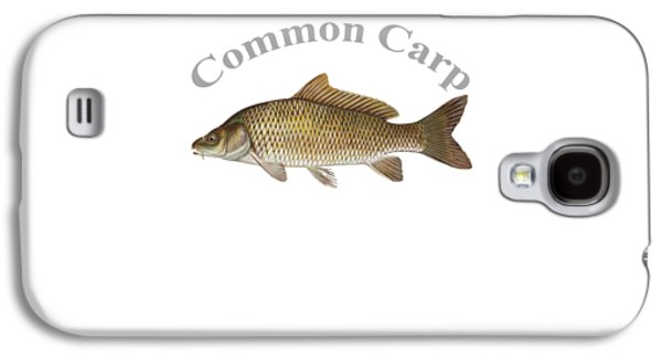 Gamefish Drawings Galaxy S4 Cases - Common Carp Fish by Dehner Galaxy S4 Case by T Shirts R Us -