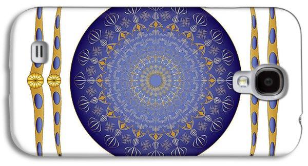 Ancient Galaxy S4 Cases - Complexical No 1864 Galaxy S4 Case by Alan Bennington