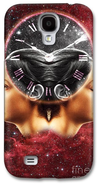Jet Star Galaxy S4 Cases - Conceptual Illustration Of Circadian Galaxy S4 Case by George Mattei