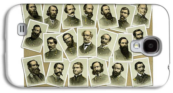 Confederate Commanders Of The Civil War Galaxy S4 Case by War Is Hell Store