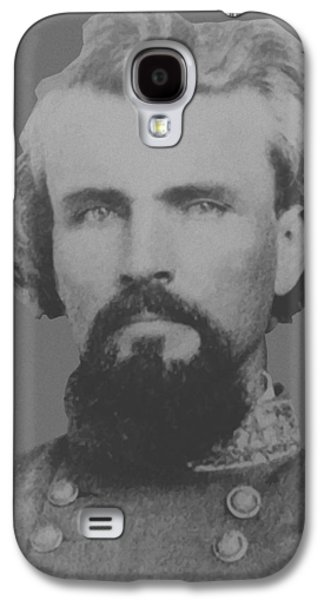 Pride Galaxy S4 Cases - Confederate General Nathan Forrest Galaxy S4 Case by War Is Hell Store