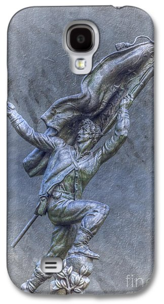 Confederate Soldiers And Sailors Monument Gettysburg Galaxy S4 Case by Randy Steele