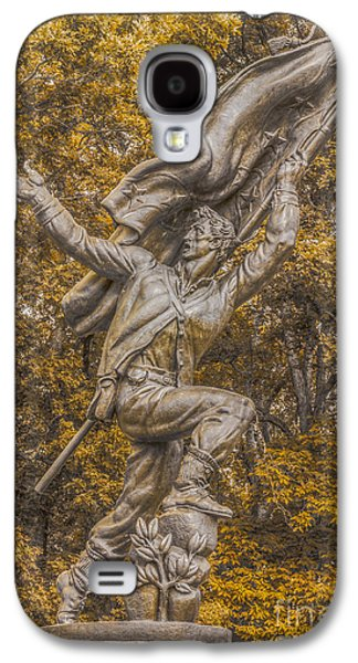 Confederate Soldiers And Sailors Monument Gettysburg Ver 2 Galaxy S4 Case by Randy Steele