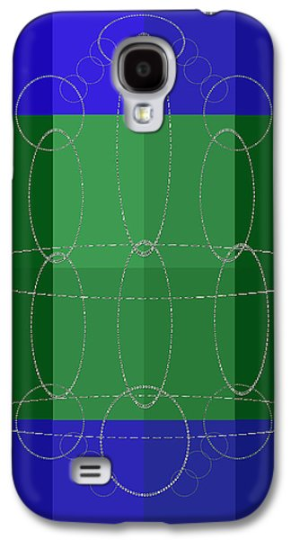 Abstract Forms Galaxy S4 Cases - Connections Galaxy S4 Case by Tina M Wenger