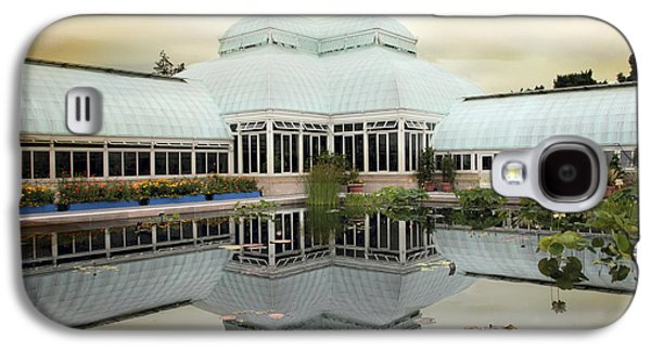 Buildings Digital Galaxy S4 Cases - Conservatory Reflections Galaxy S4 Case by Jessica Jenney