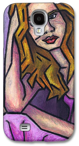 Surrealism Pastels Galaxy S4 Cases - Contemplation Galaxy S4 Case by Kamil Swiatek