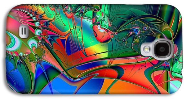 Abstract Forms Galaxy S4 Cases - Continent Galaxy S4 Case by Solomon Barroa