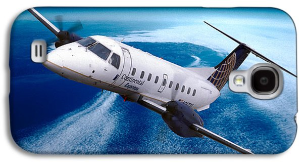 Continental Express Embraer Emb120rt Brasilia N16731 Galaxy S4 Case by Wernher Krutein