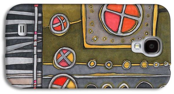 Control Panel  Galaxy S4 Case by Sandra Church