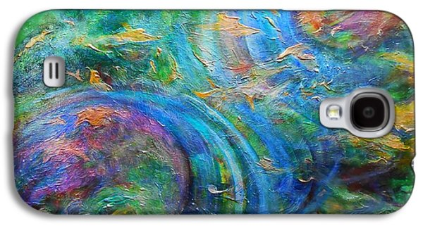Abstracts Galaxy S4 Cases - Convergence Galaxy S4 Case by Michael Durst