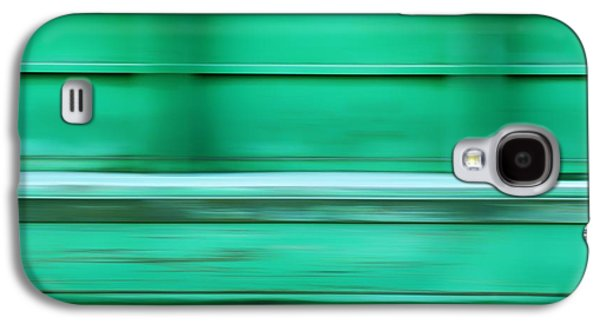 Abstracts Galaxy S4 Cases - Conveyance - River Barge - Abstract Galaxy S4 Case by Nikolyn McDonald