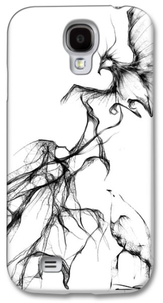 Animation Galaxy S4 Cases - Cool Sketch 94 Galaxy S4 Case by Len YewHeng