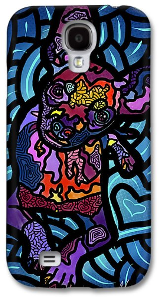 Recently Sold -  - Dogs Digital Galaxy S4 Cases - Cooper Duper Galaxy S4 Case by Marconi Calindas