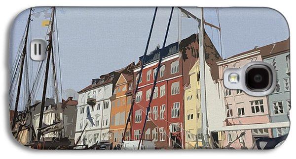 Copenhagen Memories Galaxy S4 Case by Linda Woods