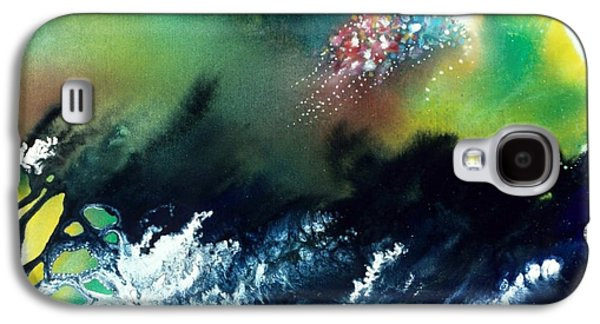 Angel Mermaids Ocean Galaxy S4 Cases - Coral Reef of the Pacific Angel Galaxy S4 Case by Lee Pantas