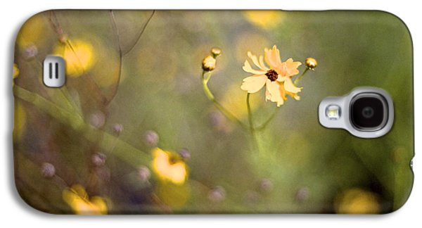 Florida Flowers Photographs Galaxy S4 Cases - Coreopsis Galaxy S4 Case by William Wetmore