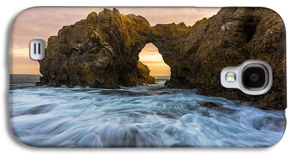 Beach Landscape Galaxy S4 Cases - Corona Del Mar Galaxy S4 Case by Dustin  LeFevre