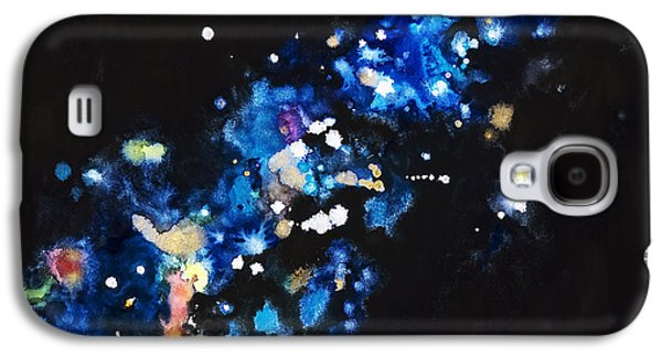 Cosmic Space Paintings Galaxy S4 Cases - Cosmic Sparks Galaxy S4 Case by Tara Thelen - Printscapes