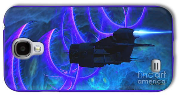 Cosmic String Galaxy S4 Case by Corey Ford
