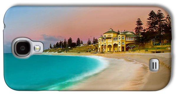 Cottesloe Beach Sunset Galaxy S4 Case by Az Jackson