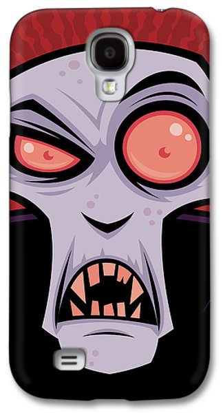 Count Dracula Galaxy S4 Case by John Schwegel