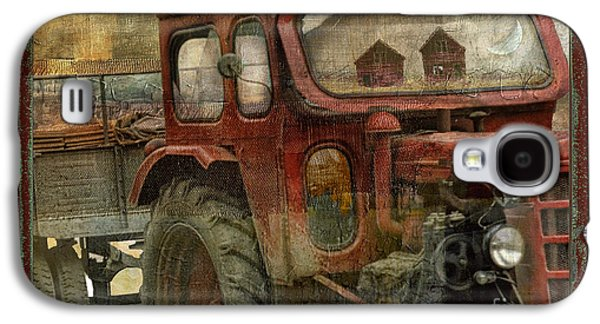 Old Barns Paintings Galaxy S4 Cases - Country Reflections Galaxy S4 Case by Mindy Sommers